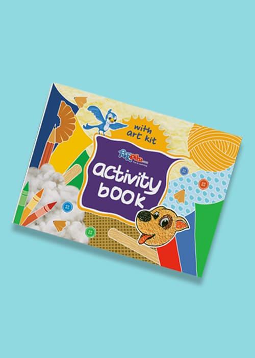 ChikuPiku Activity Book for Kids