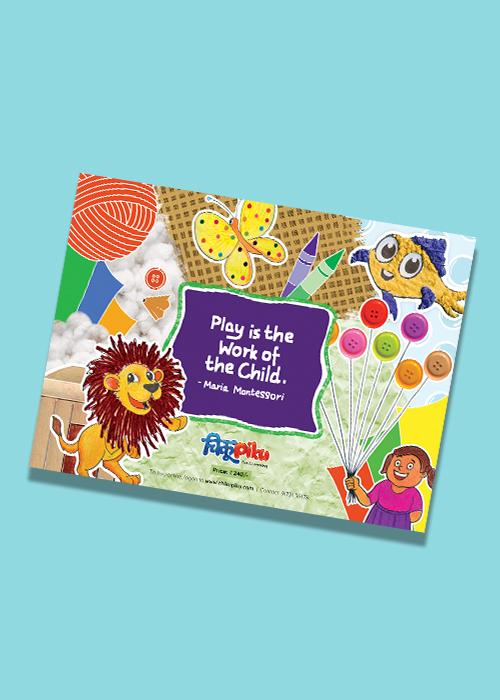 ChikuPiku Activity Book for Child